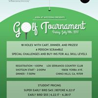 9th Annual Golf Tournament - Hosted by ASDA at WesternU