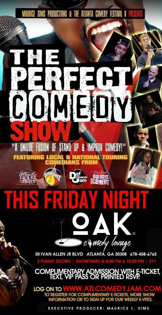The Perfect Comedy Show at Oak Comedy Lounge