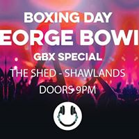 George Bowie GBX Boxing Day Special