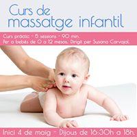 Curs de Massatge Infantil (classe 15)
