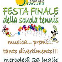 Festa Finale Della Scuola Tennis