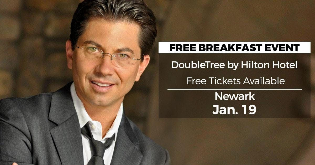 (FREE) Millionaire Success Habits revealed in Newark by Dean Graziosi