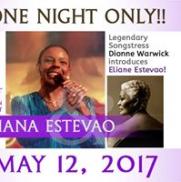 Eliana Estevao introduced by Dionne Warwick