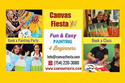 Saturdays 230 pm.Painting classes for adults in Davie FL