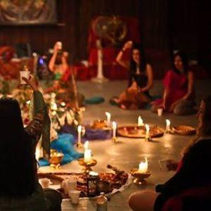 Circle Of Sisters  Shakti  Woman  Singing  Cacao  Dance