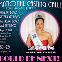 Casting Call for 2018 Miss Art Deco