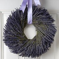 Lavender Wreath Making Classes- Reservation Required