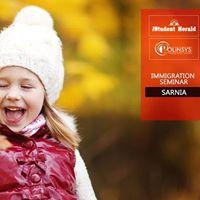 Free Canada Immigration Seminar in Sarnia
