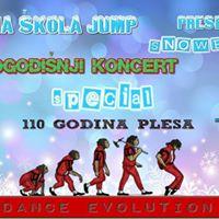V Novogodinji koncert SNOWBALL by Plesna kola Jump