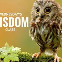 Wednesdays Wisdom Class
