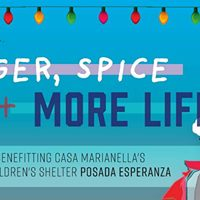 Ginger Spice &amp MORE LIFE (Ugly Sweater Party)