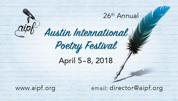 26th Annual Austin International Poetry Festival