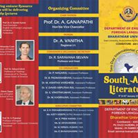 Two Day International Conference on South Asian Literature
