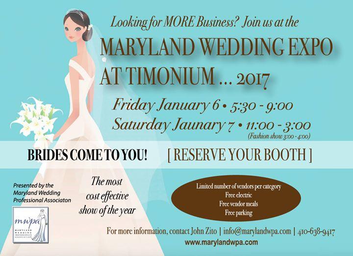 Maryland wedding expo at timonium 2017 timonium for Wedding expo az