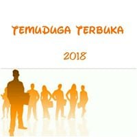 TEMUDUGA TERBUKA SESI (2018)