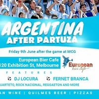 Argentina After Party at The Euro - 9 June