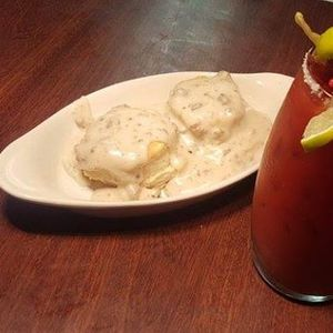 Bloody Mary Bar and Biscuits & Gravy