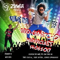 PEDRO Camacho Zumba Fitness Masterclass