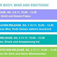 Workshop Schulter-Releaselass AltlastenDruck &amp Anspannung los