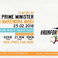 The Surat Marathon - Run for New India