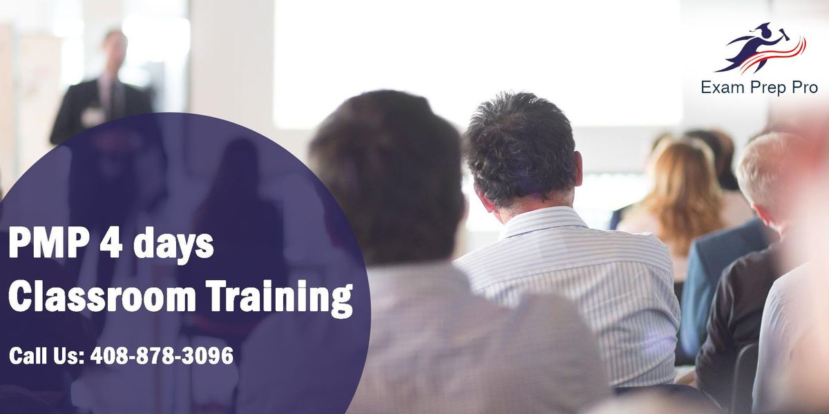 PMP 4 days Classroom Training in CharlotteNC