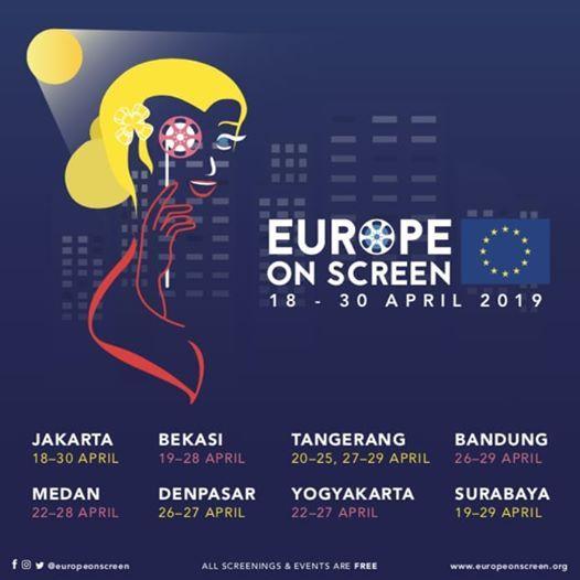 Europe on Screen 2019 dalamKine KTP (Klub Tonton dan Periksa)