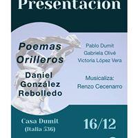 Presentacin  Poemas Orilleros - Daniel Gonzlez Rebolledo
