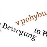 Poezie v pohybu-Poesie in Bewegung