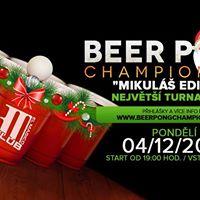 Beer Pong Championship - Mikul Edition