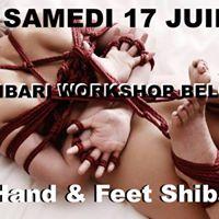 Shibari Workshop  Belgium  Seb Kinbaku &amp Malice