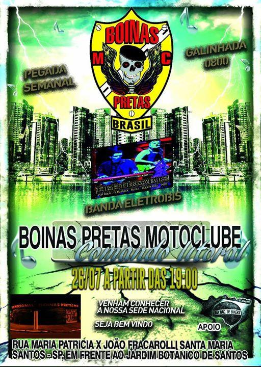 Boinas Pretas MC Comando Litoral. at Sede Nacional Boinas Pretas Mc ... 03911d96420