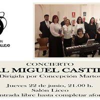 Concierto Coral Miguel Castillejo