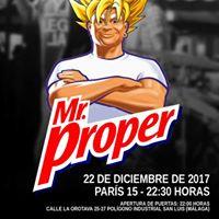 Mr. Proper en concierto
