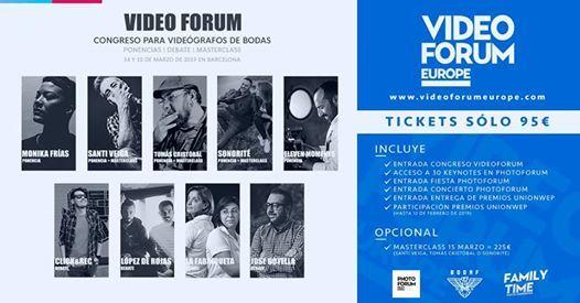 Video Forum  Congreso para videgrafos