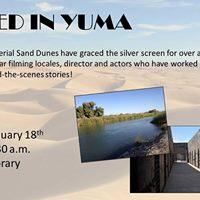 Filmed in Yuma