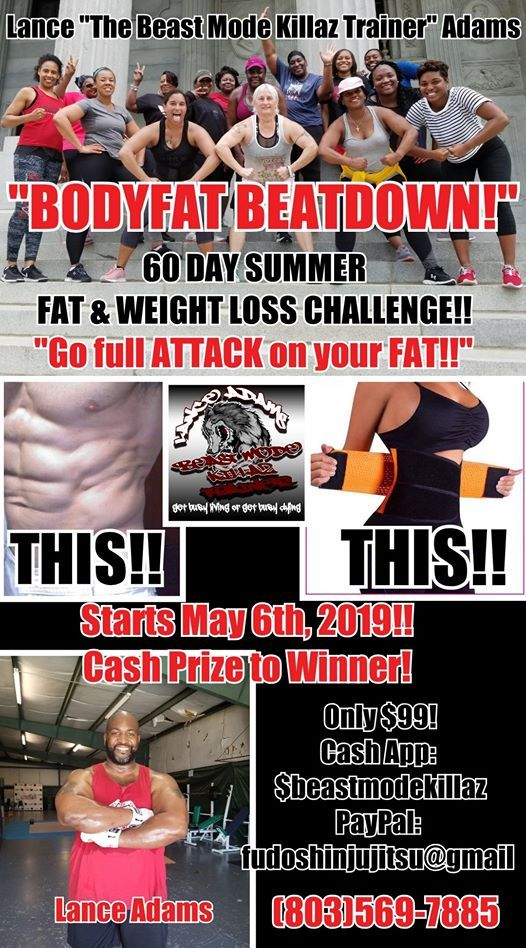 Bodyfat Beatdown 60 Day Weight Fat Loss Challenge At The Warrior