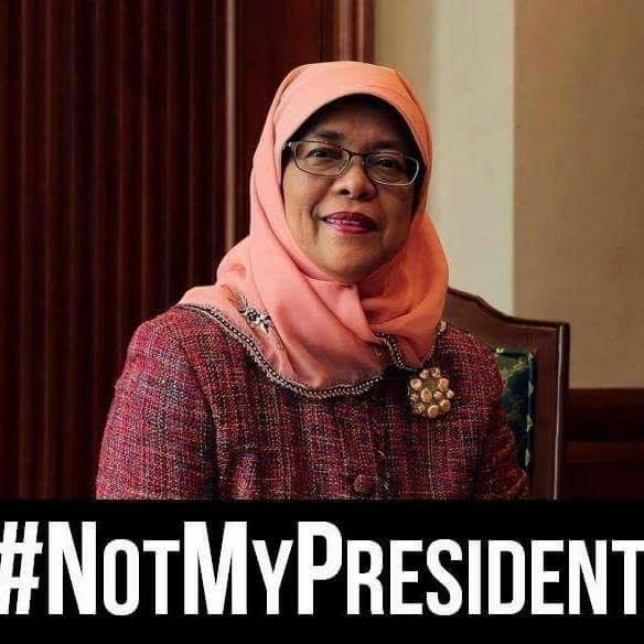 Silent Sit-in Protest - Not My President