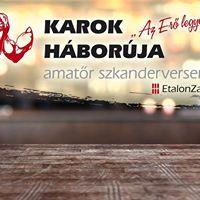 KAROK Hborja amatr szkanderverseny - Fitt Arna Zalaegerszeg