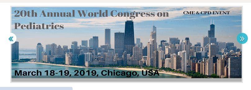 20th Annual World Congress on Pediatrics (CSE) A