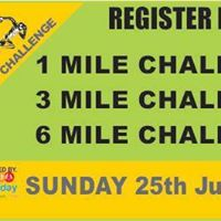 1 3 &amp 6 Mile challenge