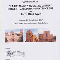 Conferencia del consoci Jordi Rius Jove