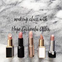 Fall 2017 Makeup Class