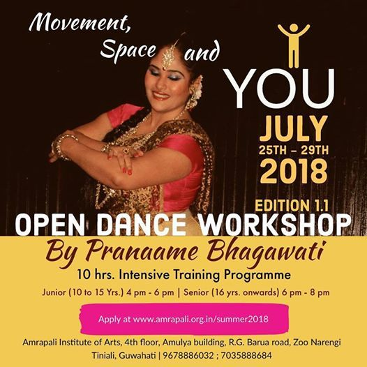Open Dance Workshop on Movement Space & You