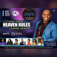 Daniel Akakpos Heaven Rules Album Launch