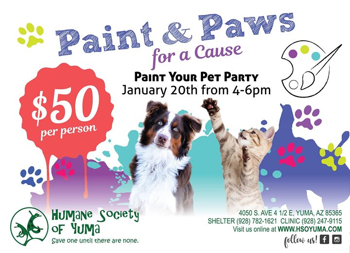 Paint & Paws for a Cause
