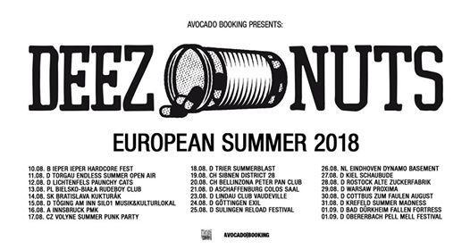 Deez Nuts & Counterparts in Bratislava