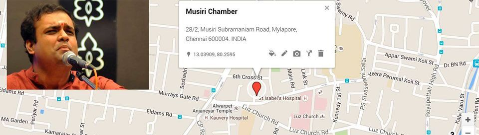Musiri Chamber Concert for November 2018 - Ganesh Vishwanathan