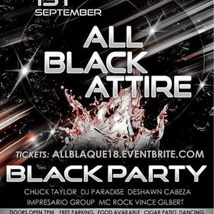 The All Black Labor Day Weekend Party 2018