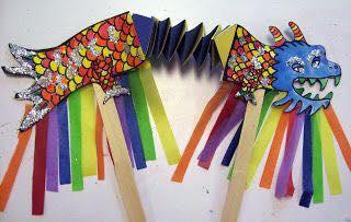 Art&craft workshop for children in North London.