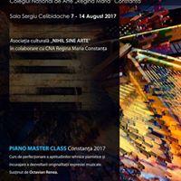 Piano Master Class Constana 2017